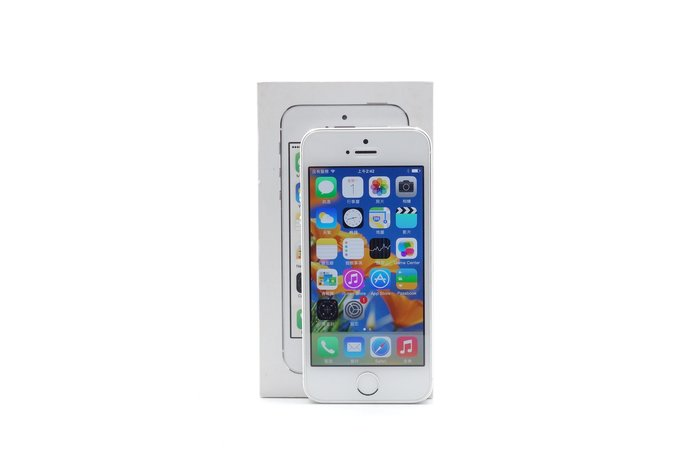 【台中青蘋果】Apple iPhone 5S 銀 16G 16GB 二手 4吋 蘋果手機 #36032