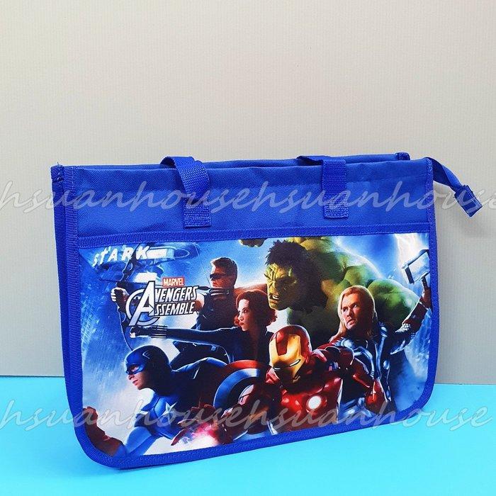 復仇者聯盟 英雄 帆布 側肩袋 購物袋 資料袋 A4袋 才藝袋 補習袋 鋼鐵人 美國隊長