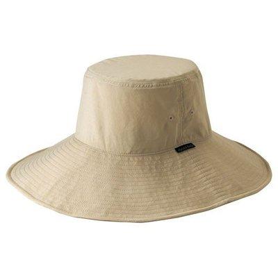 【PD帽饰】【mont-bell】PARASOL HAT大盤帽 淺卡其/礦藍 NO.1108435-LTN/MINE