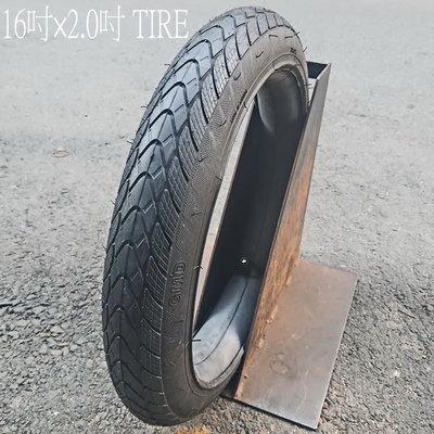 [I.H BMX] 16吋 BMX 全地形街道外胎1 6×2.0 TIRE 含內胎 街道車/DH/極限單車/攀岩車