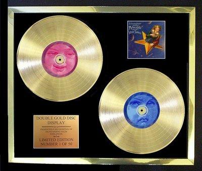 美國官方正品SMASHING PUMPKINS非凡人物 黑膠24K黃金唱片LP簽名限量外套滑板面搖滾樂團鞋褲長短靴金屬
