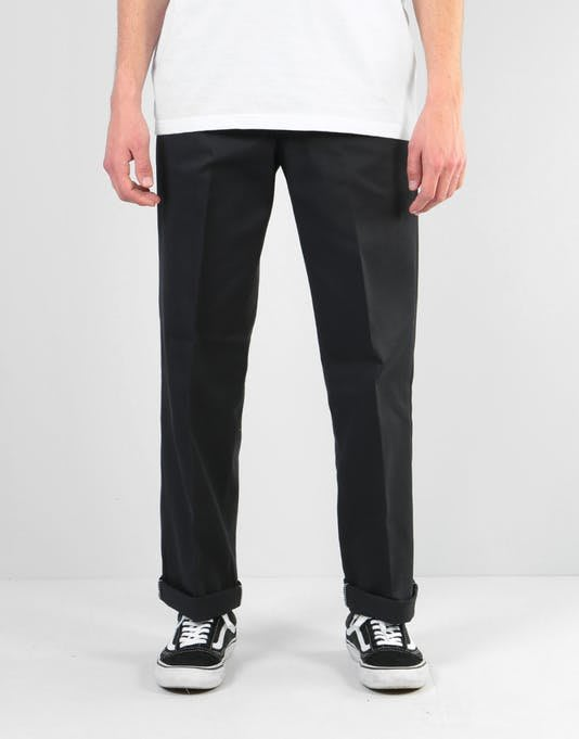 OVERLORD DICKIES 874 WORK PANT, BLACK 滑板 工作 長褲