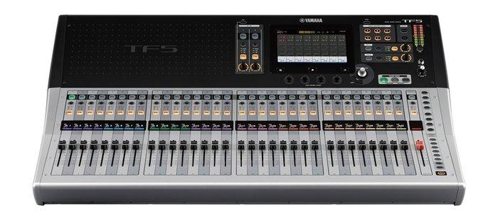 【六絃樂器】全新 Yamaha TF5 數位混音器 / 另有 TF1 TF3 舞台音響設備 專業PA器材