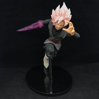 【紫色風鈴3.3】 七龍珠超第十宇宙氣劍神裂斬黑悟空盒裝 港版