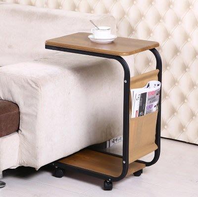 100%new 移動茶几 Mobile coffee table 簡約茶桌 沙發桌 電腦桌 床頭桌 辨公桌