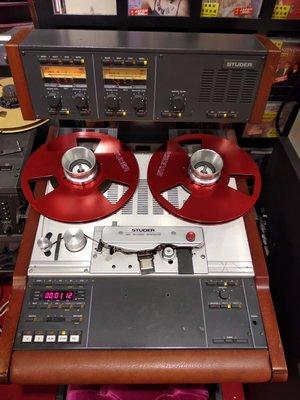 Studer A807 Professional Open Reel recorder 瑞士STUDER A807專業級開盤式錄音座,8成新,操作完美。