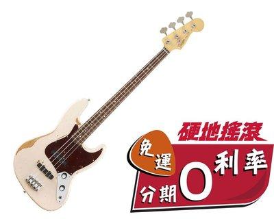【硬地搖滾】嗆辣紅椒 貝斯手 簽名琴 FLEA JAZZ BASS ROAD WORN 仿舊處理