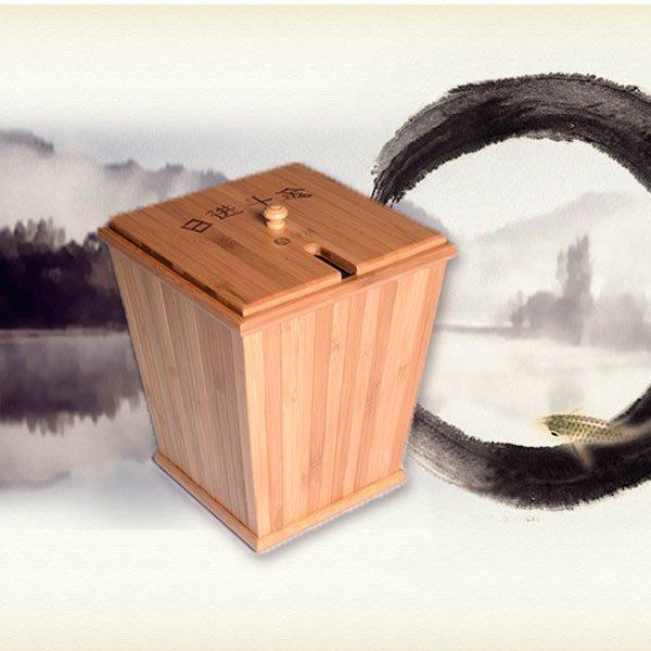 5Cgo【茗道】含稅會員有優惠 17019084264 精致竹制茶桶防易爆裂漏水茶水桶茶渣桶排水桶裝水桶功夫茶具茶盤配件