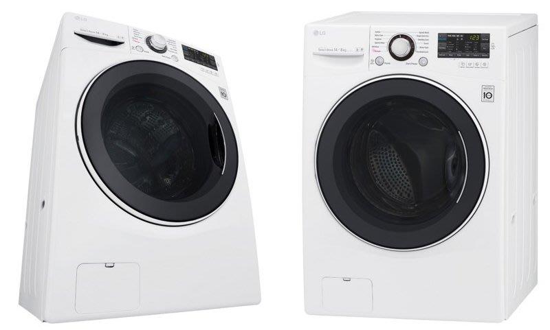 LG WD-S105VCW WIFI滾筒蒸洗脫10.5公斤洗衣機