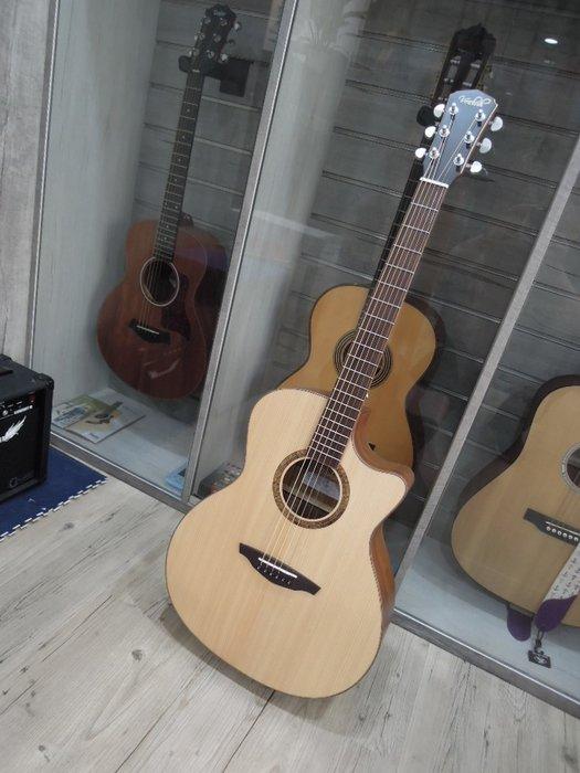 台南嘉軒樂器吉他 全新VEELAH 高級加拿大單板木吉他 V3-GAC 精選好琴 超值特價 歡迎洽詢 0929