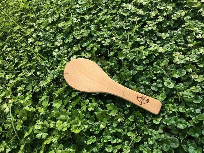 【光合作用】QC館 台灣檜木飯匙 天然無上漆 100%台灣製造 愛地球 eco 舊木、漂流木,重生再利用 抗菌、防霉