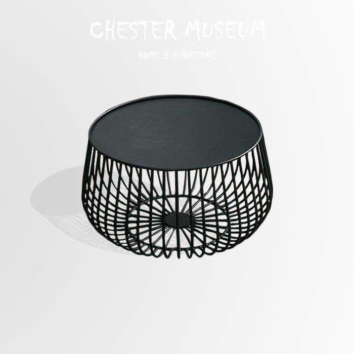 黑色鳥巢桌几 黑色 邊桌 茶几 小圓桌 北歐風 設計 咖啡桌 桌子 圓桌 小圓桌 小茶几 茶几 邊桌 賈斯特博物館