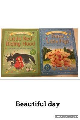 three little pigs+little red riding hood