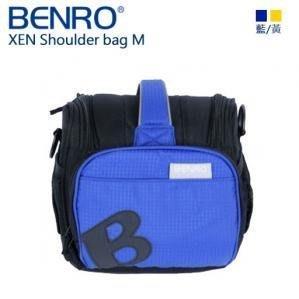 ((名揚數位)) BENRO 百諾 XEN M 單肩包 相機包 附防雨罩 藍+黑色 勝興公司貨