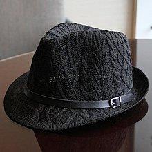 全店活動折扣 小禮帽英倫復古時尚百搭針織爵士帽遮陽帽 免運