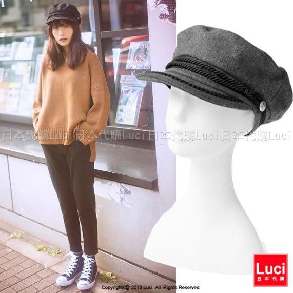 帽子 報童帽 貝雷帽 毛呢帽 英倫風軟帽 海軍帽  日雜款 MORE12月號  LUCI日本代購[dd89q]