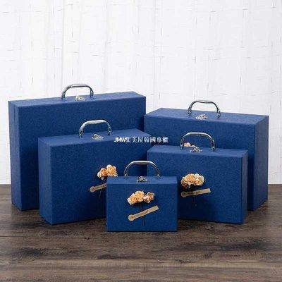 JMW集美屋韓國專櫃禮物盒子女長方形可愛口紅精美生日禮盒圍巾發光伴手禮品盒大小號