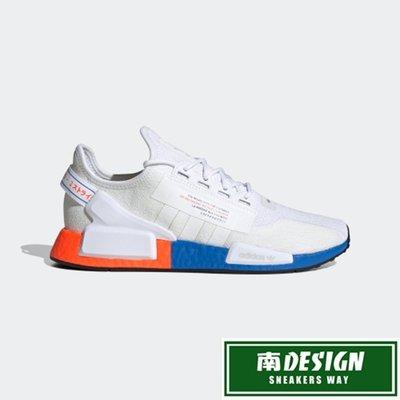 南◇2020 6月 ADIDAS NMD_R1 V2 運動鞋 FX3949 白 橘 藍 運動 休閒 BOOST 男款