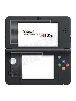 任天堂 Nintendo New3DS 鋼化玻璃保護貼 9H 2.5D 超強抗刮【台中恐龍電玩】