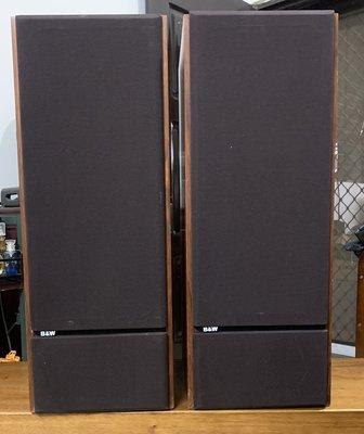 出售一對 英國 B&W DM2 series II 喇叭