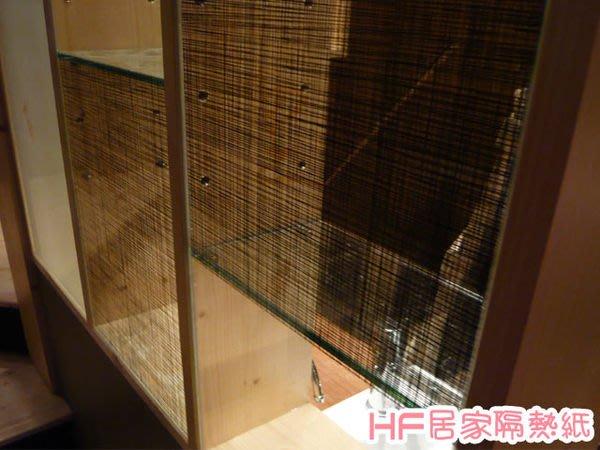 (HF居家隔熱紙) 351紡紗 玻璃貼紙 防水窗貼 落地窗 窗簾貼 壁貼  室內設計 展示櫃櫥窗