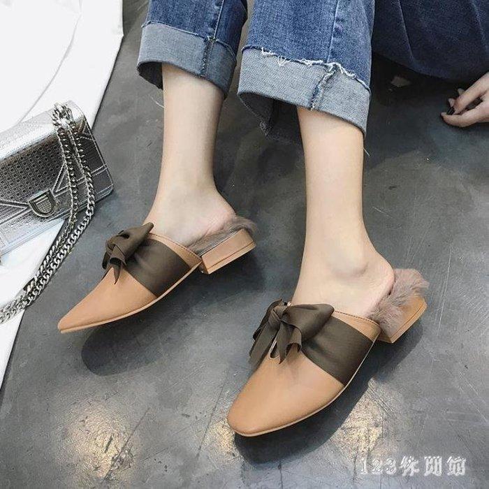 YEAHSHOP 中大尺碼穆勒鞋 新款 季韓版原Y185