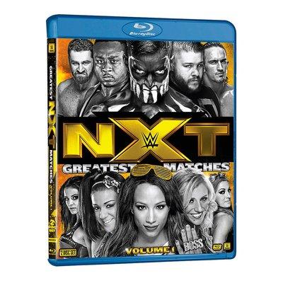 ☆阿Su倉庫☆WWE摔角 NXT's Greatest Matches Vol. 1 Blu-Ray NXT最佳賽事藍光