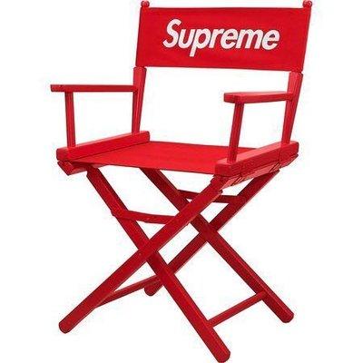 * evisukiki * Supreme 19SS Director's Chair 紅色 導演椅 椅子 折疊椅