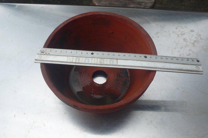紫色小館-87---------早期紅土花盆