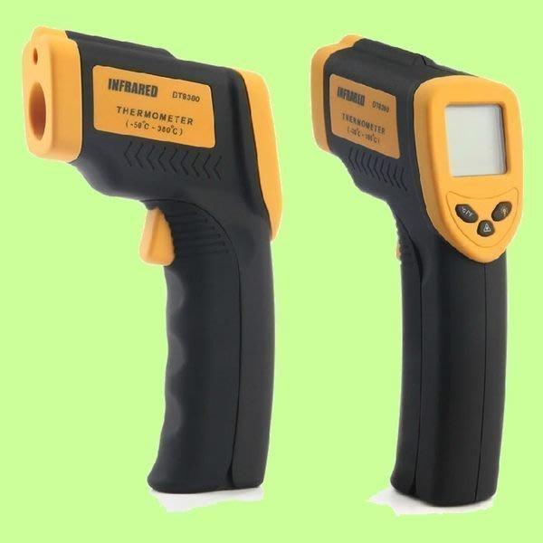 5Cgo【權宇】INFRARED 正品一年保 手持紅外線數位LCD液晶測溫儀 DT8380 非接觸式溫度計工業雷射測溫槍