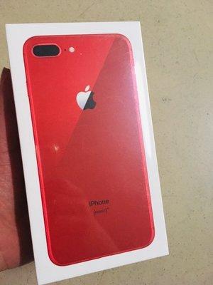 [蘋果先生] iPhone 8 Plus 64G 蘋果原廠台灣公司貨 紅色 新貨量少直接來電