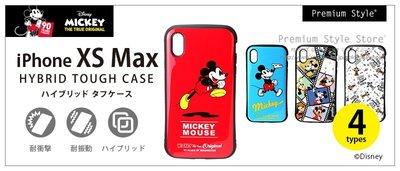 尼德斯Nydus 日本正版 迪士尼 米奇 抗震 耐衝擊 TPU軟殼 6.5吋 iPhone Xs Max