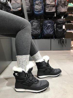 【全新正貨私家珍藏】Sorel 女款防滑户外雪地靴Whitney™ Short Lace Boot 加絨户外滑雪厚底短靴