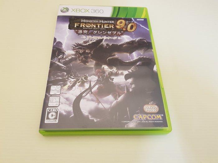 ☆誠信3C☆ 最便宜 XBOX 360 原廠 二手 遊戲片 魔物獵人 網路版 9.0 只賣150 店內另有大量遊戲可買