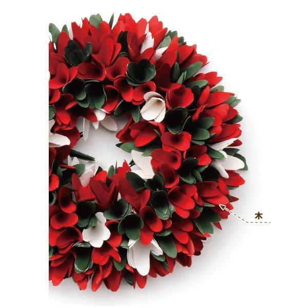 《齊洛瓦鄉村風雜貨》日本zakka雜貨 日本Paseo 聖誕節季節限定手作花圈 耶誕節花圈