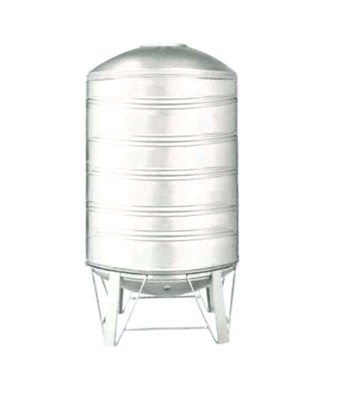 【工匠家居生活館 】 不鏽鋼水塔 5000型 304#白鐵 附腳架(直徑170x高270cm) 厚度0.6mm