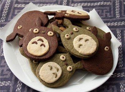 不鏽鋼 超萌卡通系列餅乾模 龍貓 正面...