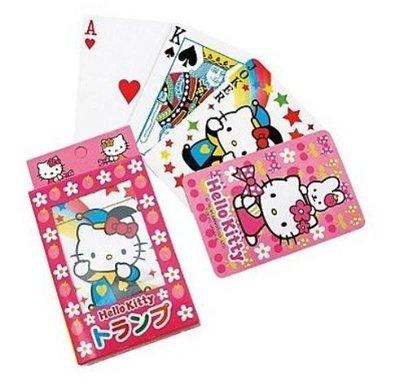 【胖兔兒精選】日本 Hello Kitty 撲克牌 三麗鷗 遊戲 益智遊戲 桌遊 新年