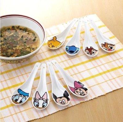 東京家族 迪士尼系列 大臉造型 湯匙