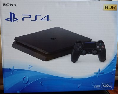 PS4 500GB 薄版 全新行貨跟機連手掣
