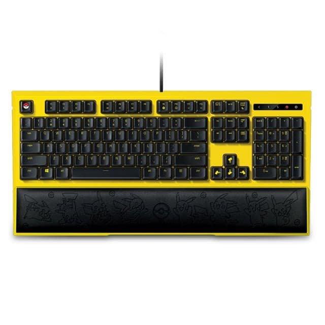 Razer 雷蛇 寶可夢 皮卡丘  鍵盤組  &  滑鼠+滑鼠墊組 限定款