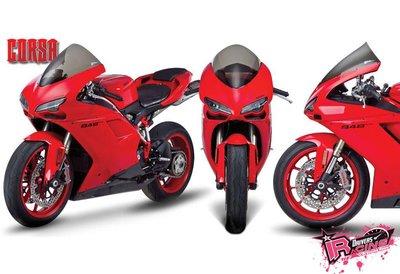 ♚賽車手的試衣間♚ Zero Gravity® Ducati 848 / EVO 08-13 CORSA款 風鏡