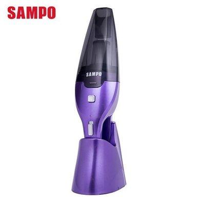 【A級福利品‧數量有限】 SAMPO 聲寶 HEPA手持式鋰電吸塵器 EC-HM06HT