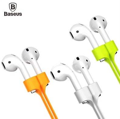 Baseus 倍思 Airpods 耳機 防失/防丟 磁吸式 扁線/耐拉 掛繩/頸繩 運動 解決無線耳機煩惱