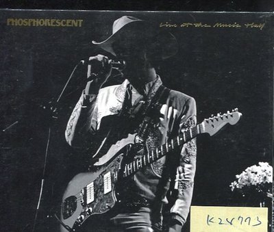 *真音樂* PHOSPHORESCENT / LIVE AT THE MUSIC THEY 二手 K24773