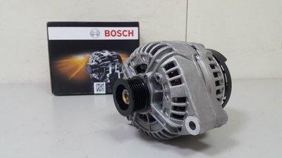 BENZ W210 M112 99-02 (120A升級150A) 發電機 (BOSCH製全新品) 0124615049