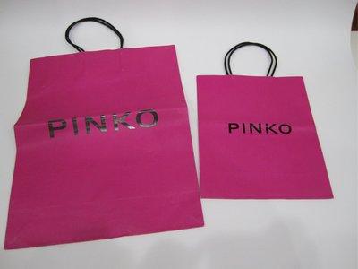 (專櫃紙袋)PINKO BALLY 不分尺寸 一個NT $200
