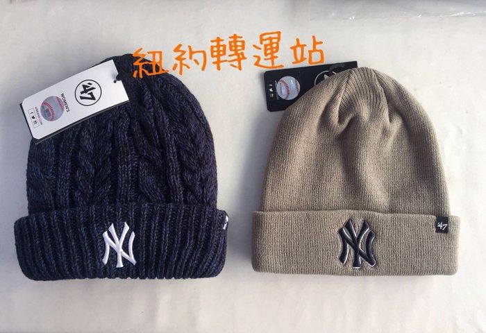 紐約轉運站 :美國現貨在台100%全新真品YANKEES洋基隊男女毛帽 運動休閒帽 老帽