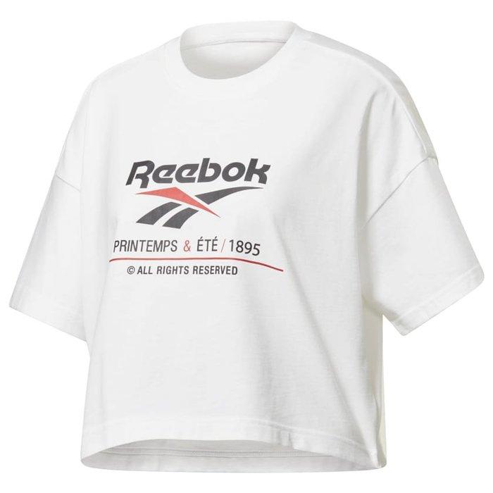 REEBOK CLASSIC LOGO CROP TOP EJ8618 EK1276 短版上衣 兩色