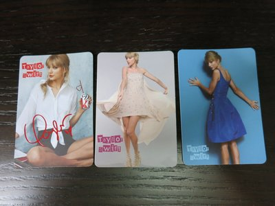 yes card Taylor Swift 共3張